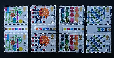 Gb Um Commemorative Stamp Traffic Light Gutter Pairs - Chemistry - 2.3.77