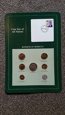 Franklin Mint- Coin Sets of All Nations -Kingdom of Morocco