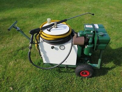 Brendon Lister diesel pressure washer CAT pump less than 50 hours from new