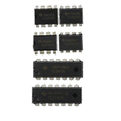 Tl071 Tl072 Tl074 Tl081 Tl082 Tl084 Ti Opamp Ic Uk Stock Free Postage
