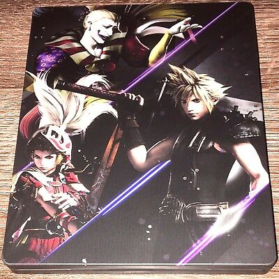 Dissidia Final Fantasy Nt Brawler Steelbook Ps4 Playstation - No Game - Mint!