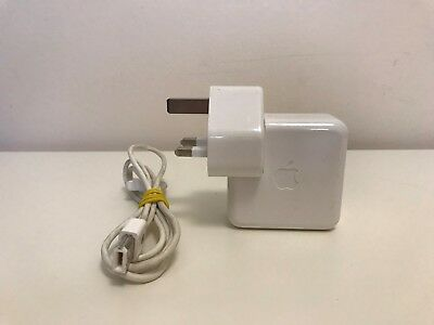 Genuine Apple Firewire Plug A1070 AC Charger Adapter Adaptor + Cable Wire