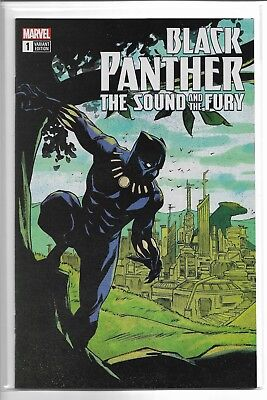 Black Panther The Sound And The Fury #1 eBay variant SHIPS FREE!