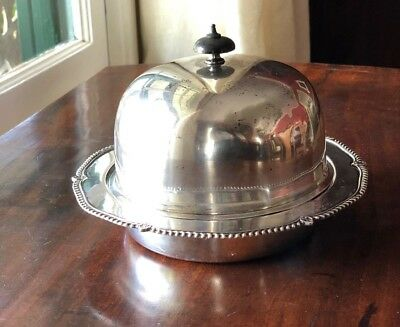Antique George Howson England Sterling Silver Muffin Dish Harrison Brothers