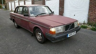 1983 Volvo 240 Dl 2 1 Saloon Manual Restoration Project Barn Find