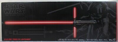 Star Wars 2015 The Black Series # 04 Kylo Ren Force Fx Deluxe 1:1 Lightsaber Mip