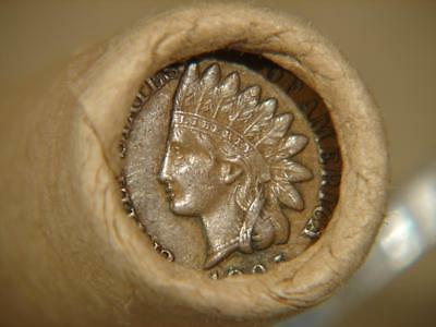 Unopened Lincoln Indian Wheat Cent Penny Roll Of 50 Coins 1916 S 1895 Tail Ends