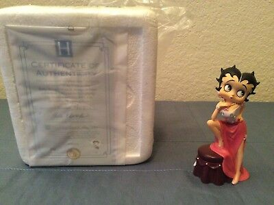 Betty Boop Hope is Always in Style # 0602 Hamilton Collection Bell Figurine NIB