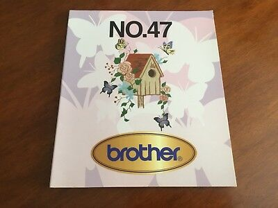 Brother Embroidery Cards #47