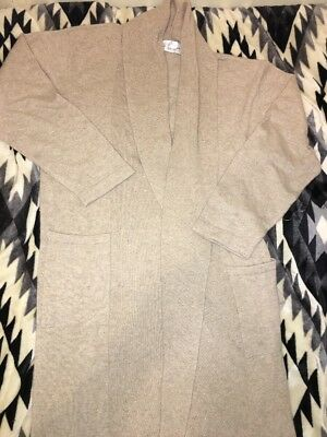 Restoration Hardware Cashmere Robe, Oatmeal, Large, Long $389.00