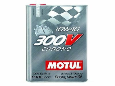 Motul 300V 10W40 CHRONO 2L 21 qt Synthetic Oil