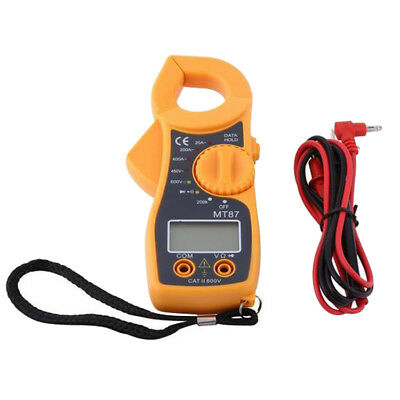 1pc Portable AC Digital LCD Clamp Meter Electric Current Multimeter Ammeter MT87