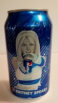 BRITNEY SPEARS: PEPSI Music Generations 2018 LIMITED EDITION, 12oz UNOPENED CAN