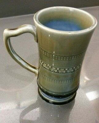 vintage IRISH Wade Porcelain MUG TANKARD SHAMROCKS Ireland cup pottery CELTIC