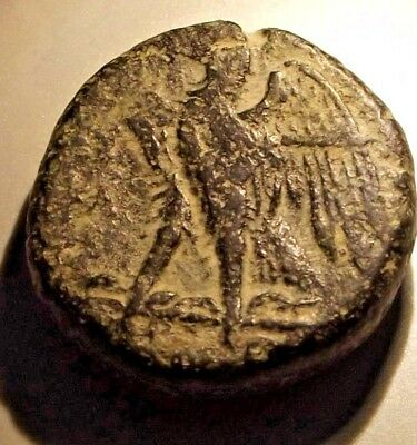 Ancient Greek Cyprus Mint Coin . / Ptolemy-  Epiphanes ? 204 / 180 Bc / Suberb