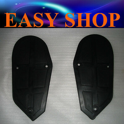 Pair Plastic Foot Rest Footrest 43 47 49cc Mini Pocket Bike ATV Quad Kids Buggy