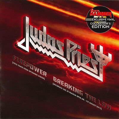 "Judas Priest - Firepower (7"") Heftbeilage"