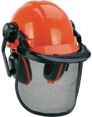 EINHELL Forestry SAFETY Helmet HAT Face PROTECTION Ear Mufflers GARDENING  Gear 2d901fab809e