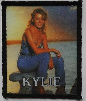 KYLIE MINOGUE Old OG Vintage 80/90`s Printed Sew On Patch(NOT concert shirt pin)