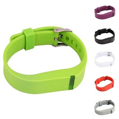 Replacement Watchband Watch Strap Wrist Band Metal Buckle For Fitbit Flex Watch
