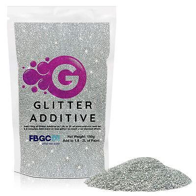 Glitter Crystals Paint Additive 150g - Emulsion Walls Ceilings Bedroom Kitchen