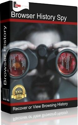 Browser History Spy | Recover Data and Inspect Activity | Windows (Download)