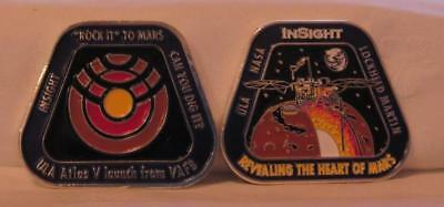 Atlas V Insight Coin Mission To Mars Space Mission Free Shipping