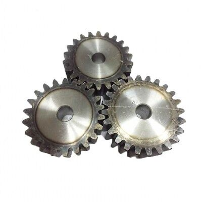 2.5Mod 22T Spur Gears #45 Steel Pinion Gear Tooth Diameter 60mm Thickness 25mm