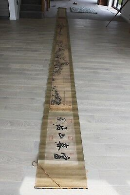 Antique original Old Chinese Scroll (NOT A COPY AS YOU SEE ON OTHER LISTINGS)
