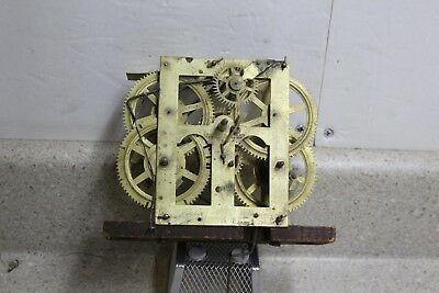 Early Chauncey Jerome Signed 30 Hour Weight Driven Clock Movement OG Movement?