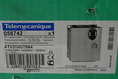 Telemecanique Atv31Hu75N4 Neu