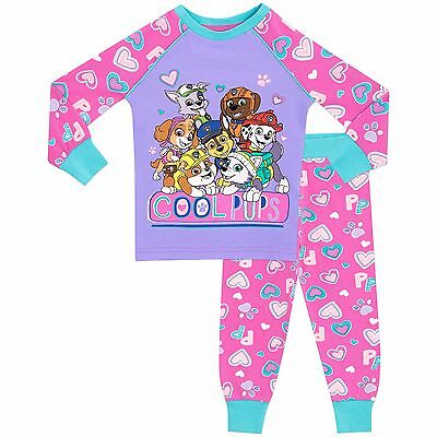 Paw Patrol Pyjamas | Girls Paw Patrol PJs | Paw Patrol Nightwear Set | NEW