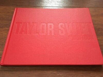 Taylor Swift Hardcover Red Tour Book RARE Crew Only