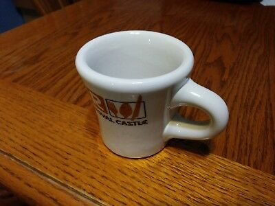 ROYAL CASTLE Shiny Coffee Mug Jackson China USA restaurant ware ~ EXCELLENT!!