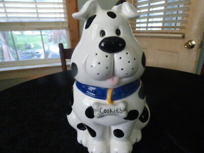 Spotted Dog Cookie Jar