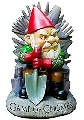 BigMouth Game Of Gnomes Garden Gnome Decoration Outdoor Summer