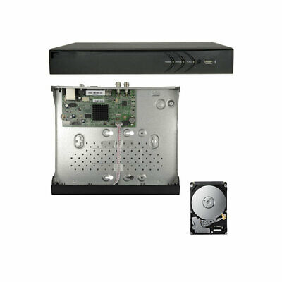XVR DVR IBRIDO CLOUD 5in1 AHD CVI TVI CVBS IP 4 CANALI UTC FULL HD 1080P P2P HDM