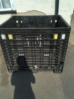 Magnum Pallet Container For Shipping Heavy Duty Fold Down Collapsable