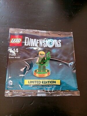 Lego Dimensions Green Arrow Limited Edition (71342) OVP Plattform unabhängig!