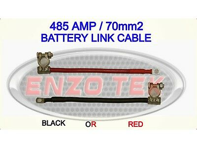 500amp Heavy Duty Live Earth Cable Strap Battery Lead Truck Lorry Hgv