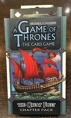 A Game of Thrones THE GREAT FLEET Chapter pack Fantasy flight LCG