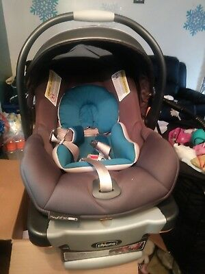 Chicco Keyfit 30 -  Anthracite Infant Car Seat.  very good condition