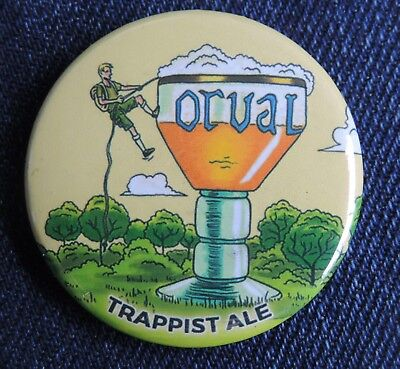 Pin Button Badge Ø38mm  ORVAL (bière) 1