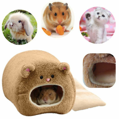 Pet House Nest Rat Cat Hamster Warm Bed Rabbit Bear Toy