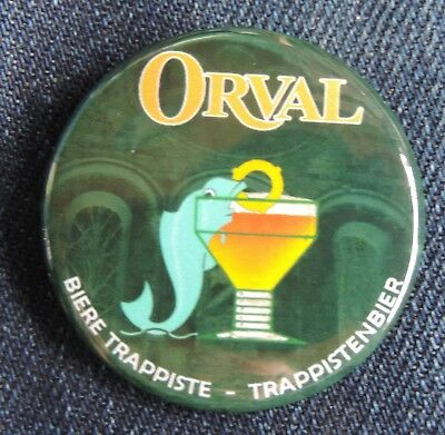 Pin Button Badge Ø38mm  ORVAL (bière) 3