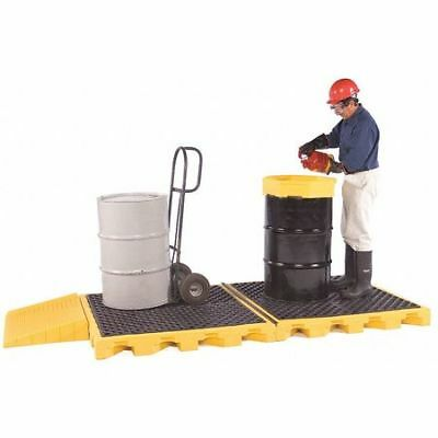 "ULTRATECH 1074I Drum Spill Containment Pallet,52"" L"
