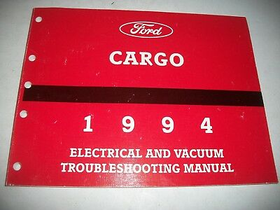 """1994 Ford """"cargo""""  Truck Electrical Evtm Troubleshooting Manual"""