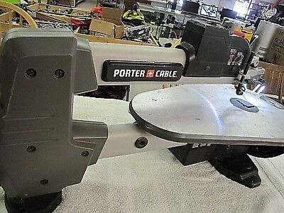 "Porter Cable 18"" Variable Speed Scroll Saw pcb375ss"