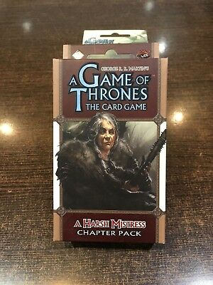 A Game of Thrones A HARSH MISTRESS Chapter pack Fantasy flight LCG
