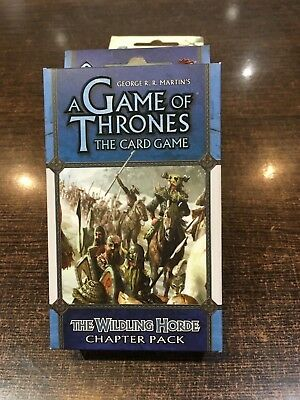 A Game of Thrones THE WILDLING HORDE Chapter pack Fantasy flight LCG